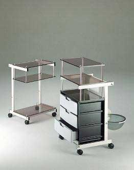 trolleys, beauty trolleys, professional trolleys, beauty manicure table, professional manicure table, beauty nail station, tattoo trolleys, medical trolleys, professional nail station, gte
